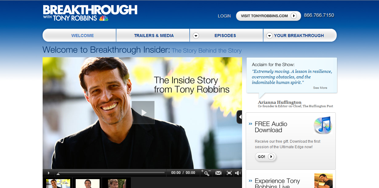 Tony Robbins Breakthrough Insider